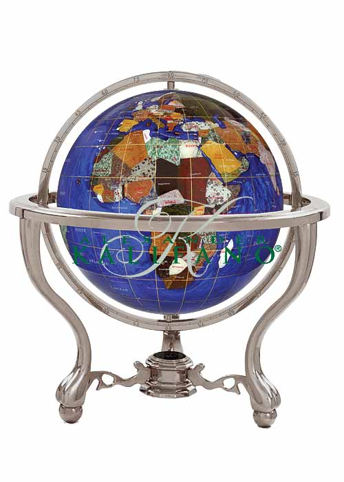 commander gemstone world globe caribbean blue free